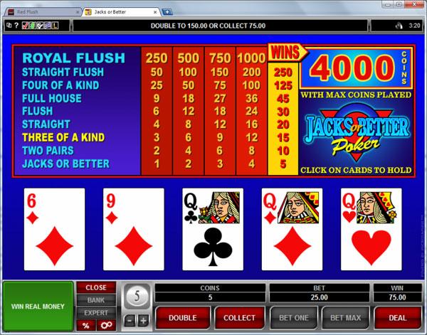 video-poker-games-online-casino