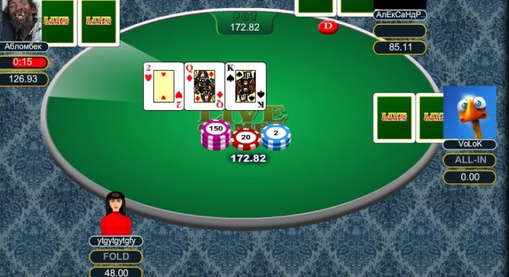 Cara transfer chip poker